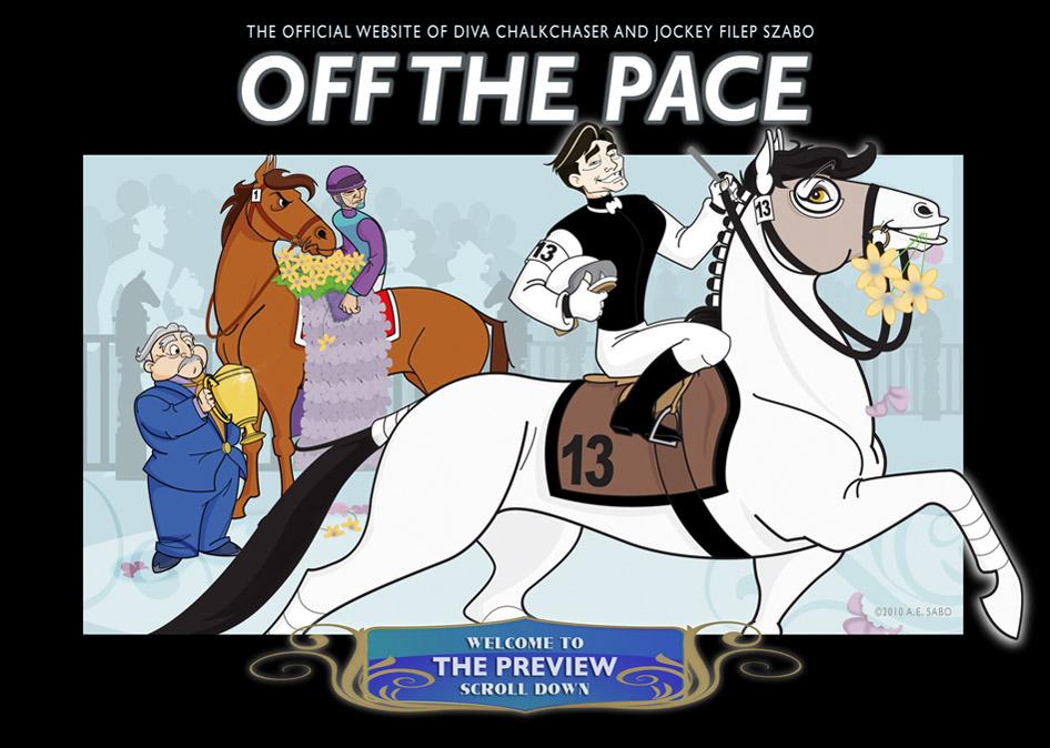 horse racing cartoon. Horse Racing Cartoon by