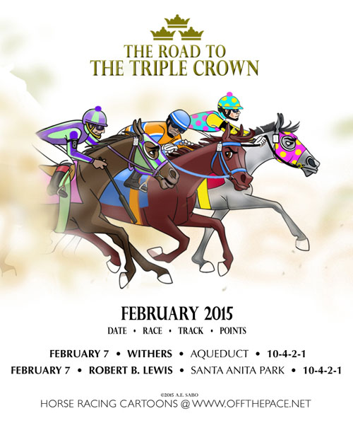 This Weekends Races Are Hosted By NYRAs Aqueduct Racetrack And Santa Anita Park To Start Off The Month Of February