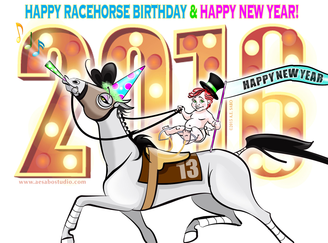 Happy New Year Horse Images 102